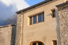 Transformation d'une bergerie en maison à Saint Julien en Quint